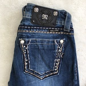 """Miss Me Straight Jeans Size 27x31"""""""